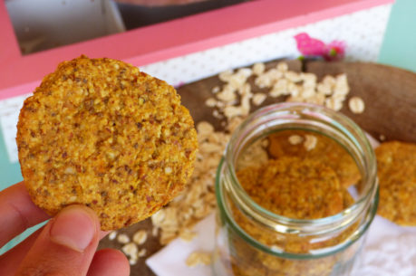 Cookies veganas de boniato y avena
