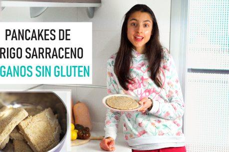 PANCAKES veganos y sin gluten de trigo sarraceno I COMO COCINAR EL TRIGO SARRACENO + SUS BENEFICIOS