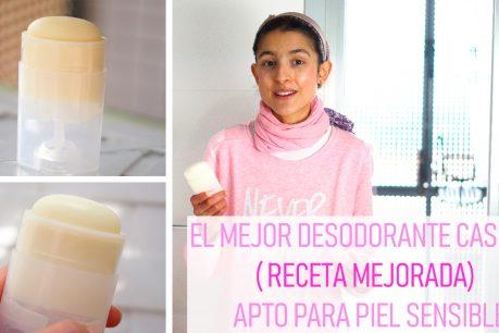 El mejor desodorante casero y saludable (RECETA MEJORADA) I Apto para pieles sensibles I Muy eficaz